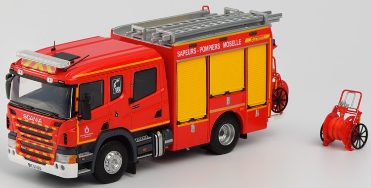 Eligor 116283 CELLULE SECOURS ROUTIER BEHM SDIS 68  Pompiers  1//43