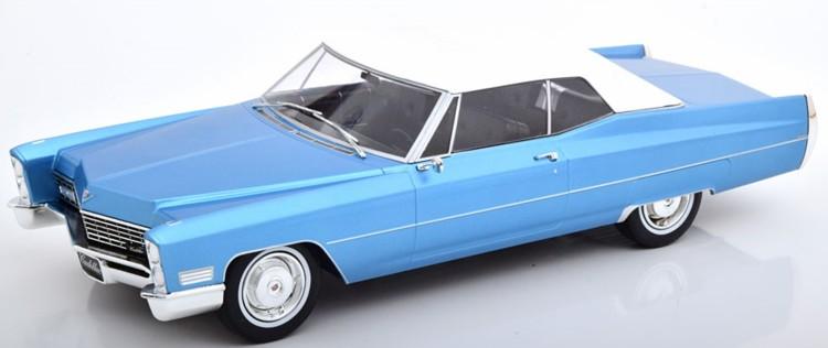 Cadillac Deville Convertible 1968 White 1//18-180313 KK SCALE